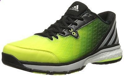 adidas Womens Energy Volley Boost 2.0 Volleyball Shoe, Yellow/Silver/Black, ...