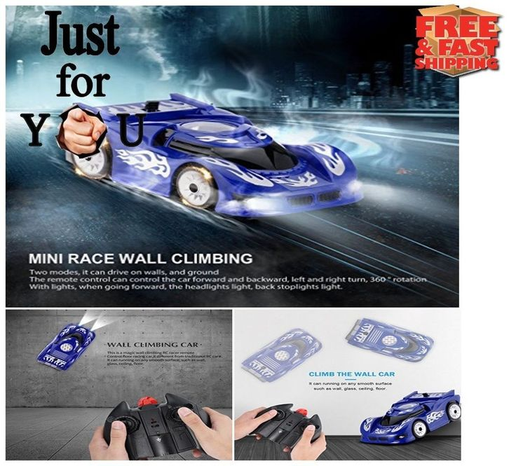 BEST Christmas Gift For Kid Boy RC Wall Climber Remote Control Toy Racing Car  #OCDAY