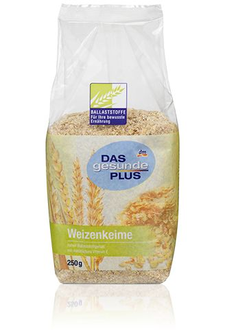 Das gesunde Plus Weizenkeime