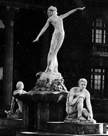 Myrna Loy - Fountain of Education 1922