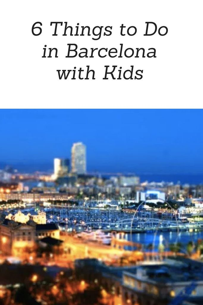6 Things to Do in Barcelona with Kids www.minitravellers.co.uk I've lost count of the times I've visited Barcelona over the years, I've been with work and with friends, I've been on a hen do and also on a romantic weekend break; however we have never actually been to Barcelona with kids.  I was recently reading an interactive guide to Barcelona on Avis's website and started to think about the reasons we might go and take the kids too!