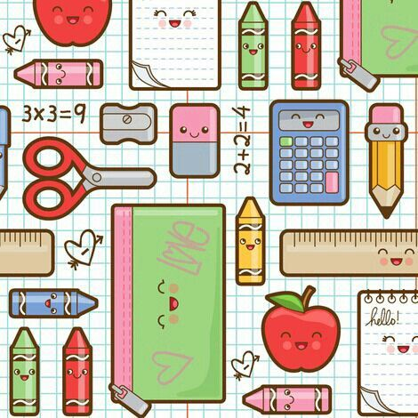 School Supplies Kawaii