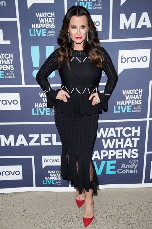 WATCH WHAT HAPPENS LIVE WITH ANDY COHEN -- Episode 14025 -- Pictured: Kyle Richards -- (Photo by: Charles Sykes/Bravo)