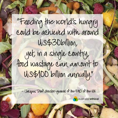 While much of the global population goes to bed hungry, developed nations including Australia have developed a shameful and totally unnecessary problem of our own. Food waste. Globally, more than 870 million people are chronically undernourished yet 1.3 billion tonnes of perfectly edible food is wasted each year. #food #waste #Australia