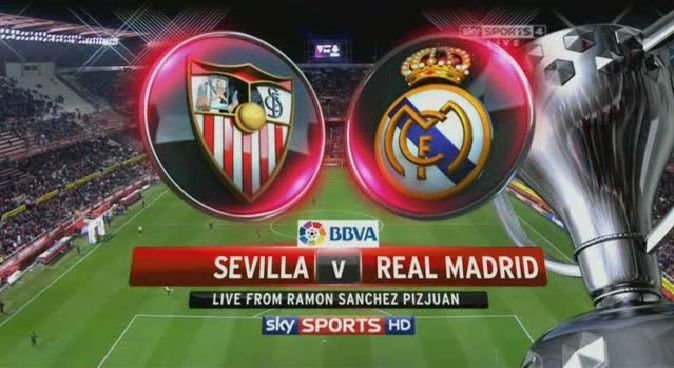 Live streaming: Sevilla vs Real Madrid