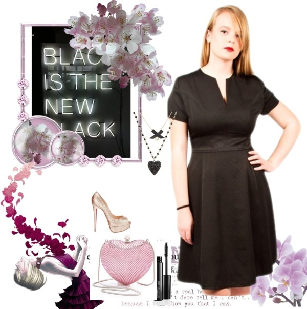 """Black is the new Black!"" by anyblackdress on Polyvore"