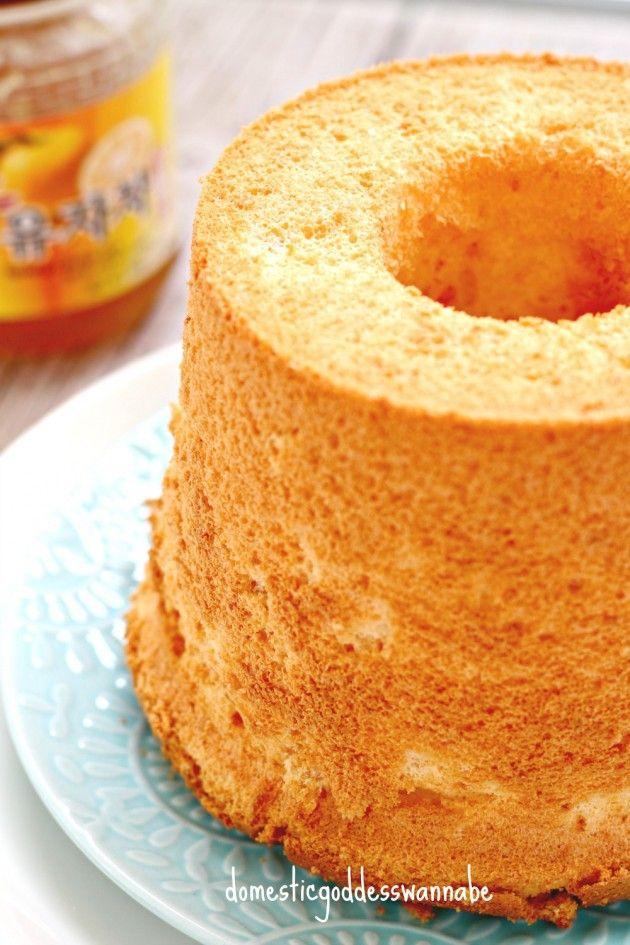 Yuzu (유자) Chiffon Cake