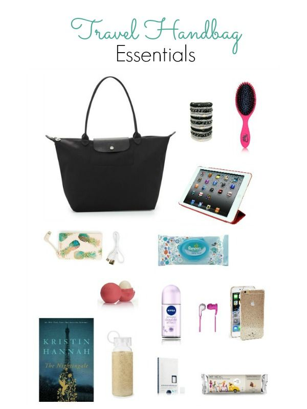 Travel Handbag Essentials - Everything you might need on the way to your vacation - Ioanna's Notebook