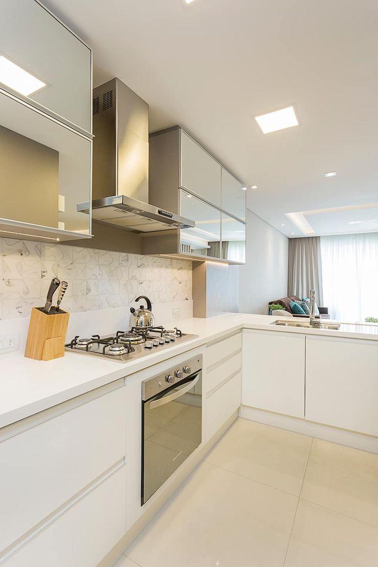 Projeto CV: Cozinhas modernas por Juliana Agner Arquitetura e Interiores