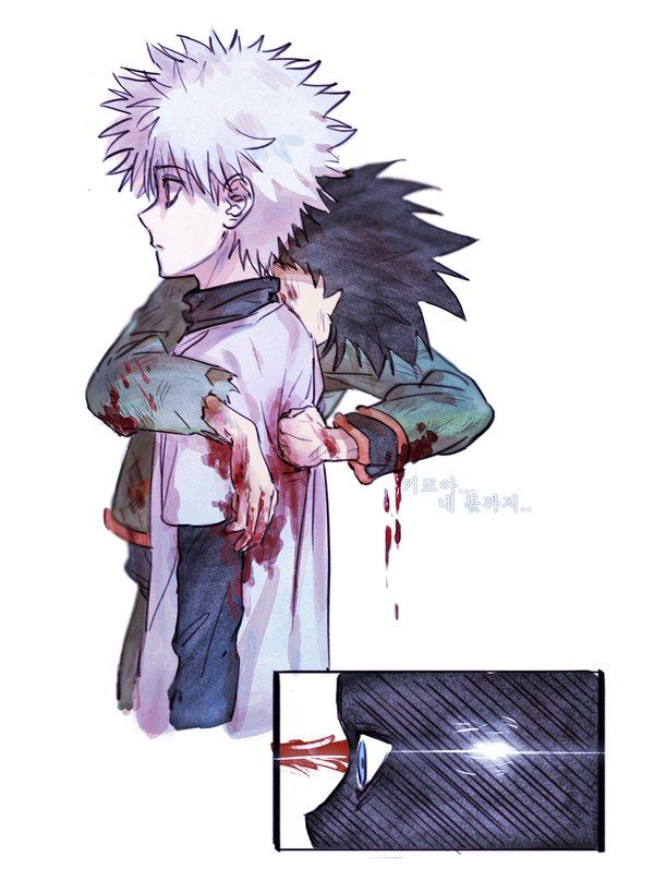 Gon Freecs and Killua Zoldyck Hunter x Hunter (Favorite art)
