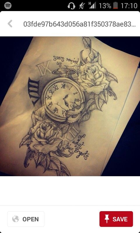 New drawing of ideas for tattoos I have