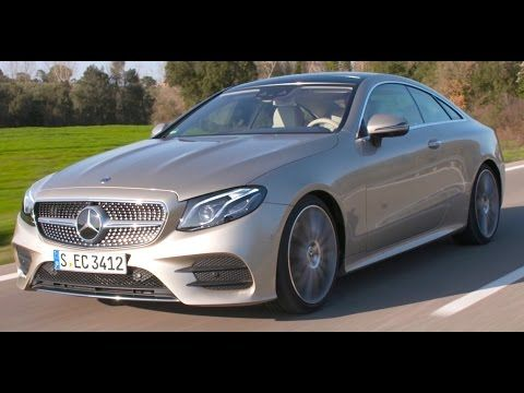 New Mercedes E300 Coupé 2017 Testdrive, Technical Data, static and driving - YouTube