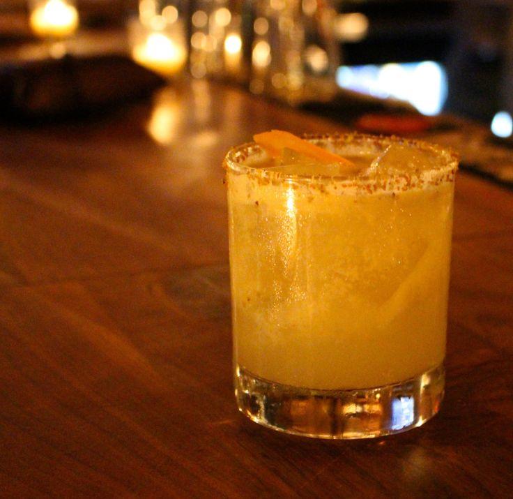 SpiritedLA reviews the engine room in Mystic, CT. Drink: Pistachio Negroni