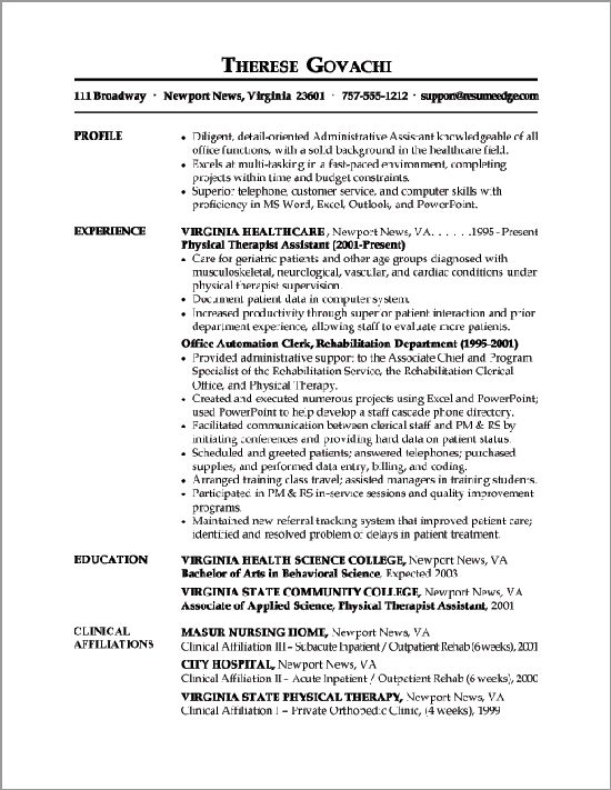 The 25+ best Funciones asistente administrativo ideas on Pinterest - examples of functional resumes