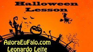 http://youtu.be/LeKOzRlxlG0 Lição de Inglês com filmes para celebrar o Halloween. Nesta lição Leo explica a história ancestral do Halloween. Juntamente com um trecho de um vídeo ho History Channel. Para ter acesso a mais lições com filmes acesse www.AgoraEuFalo.com