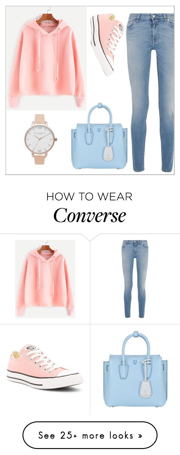 """Untitled #470"" by ajna-bih on Polyvore featuring Givenchy, Converse, MCM and Olivia Burton"