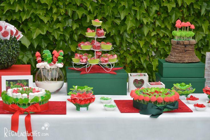 Candy bar para bodas