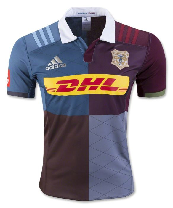 Harlequins 2016/17 Adidas 150th Anniversary Home