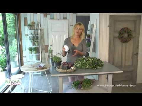 BLOOM's / DIY-Videos: Dekoideen mit Blumen und Pflanzen Schritt für Schritt erklärt
