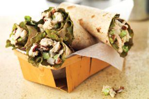 Crunchy Tuna Salad Wrap