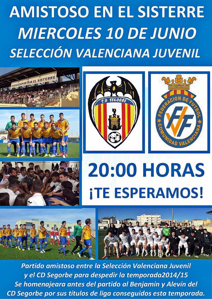 Partidazo contra las promesas del fútbol valenciano para cerrar una brillante temporada