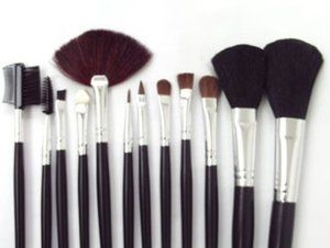 SNOW@Professional Cosmetic Beauty Makeup Brush Set 12Pcs by SNOW. $13.78. Each cosmetic brush in this 12-piece set is individually handmade. You should dry the brushes with towel after cleaning. The long handle design is very convenient to make up Different brushes have different functions and all brushes make up are disinfected. These face brushes are also safe and easy to clean by simply spraying rubbing alcohol of them to disinfect the brush after applications. Th...