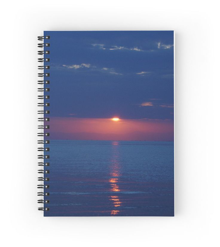 Another World Sunset Spiral Notebook by Emily Pigou #spiralnotebook #notebook #buynotebook #office #officegifts #stationery #buystationery #school #schoolnotebook #buynotebooks #coolnotebook #giftsforkids #highschoolgifts #giftsforwriters #writersnotebook #giftsforhim #giftsforher #teenager #teenagergifts #sea #summernotebook #redbubble #emilypigou #sunset #souvenir #sunsetcard #summercard