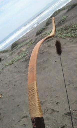 Archery in the beach Tiro con arco en la playa