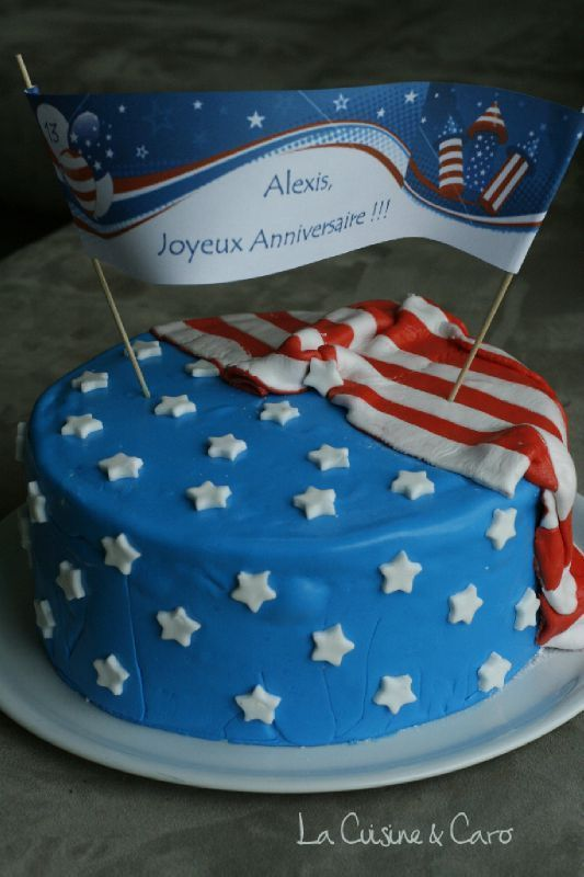 gateau_drapeau_américain