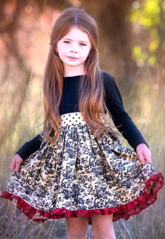 Persnickety Clothing Long Sleeve Tunic Cassie Dress Multi Holiday Size Up For Length One Good Thread Girls Dresses Pinterest Sleeve