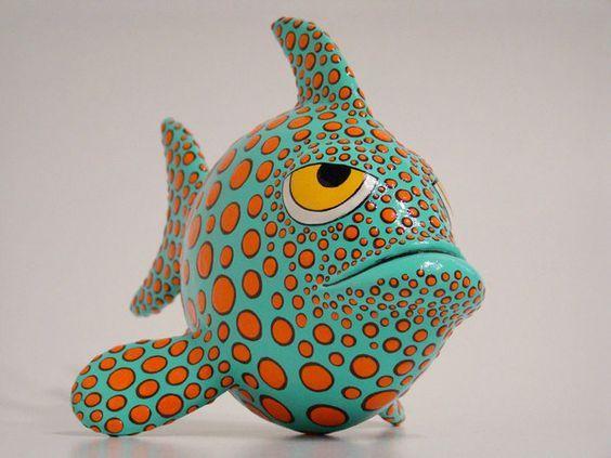 """Résultat de recherche d'images pour """"poisson papier maché"""""""
