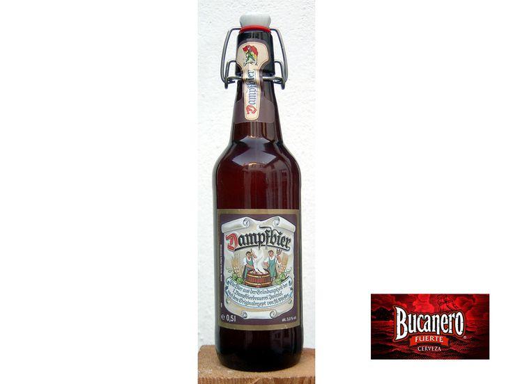 CERVEZA BUCANERO TE INFORMA ¿Es cierto que hay cervezas que se definen por el uso de la maquinaria en su elaboración? Efectivamente hay cervezas que tienen su definición por el uso de la máquina de vapor en su elaboración como la Dampfbier o Steambeer. www.cervezasdecuba.com