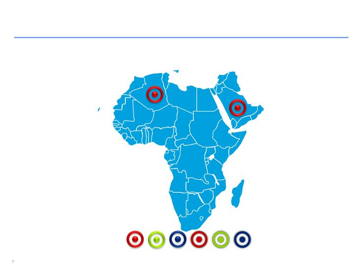 Descarga ahora Mapas de África editables en ppt