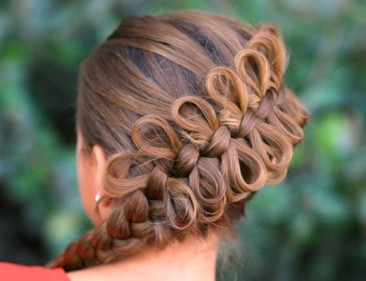 Excellent Bow Braid Braids And Bows On Pinterest Hairstyles For Women Draintrainus