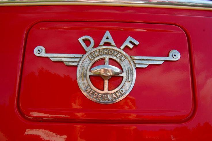 DAF Trucks old logo - emblem - badge on Daf truck