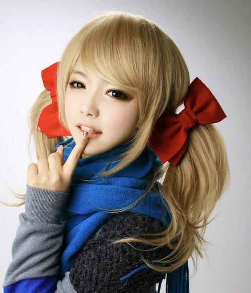 Light Ash Blonde Hair On An Asian Pinturitas Pinterest