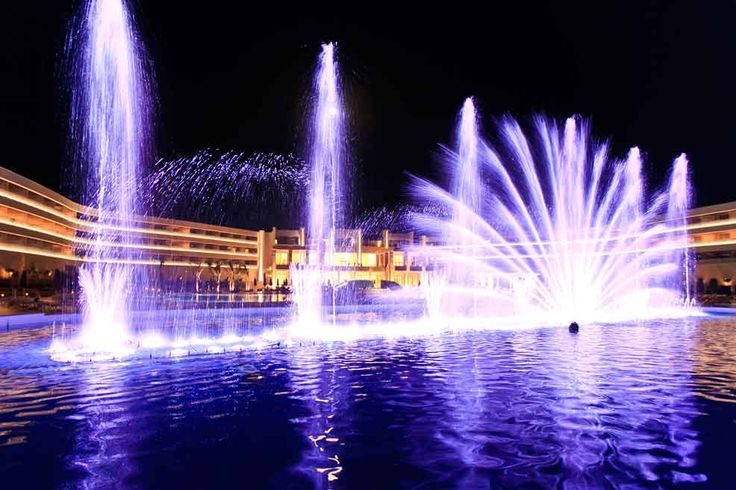 Evening Water Show