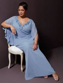 David's Bridal Plus Size Mother of the Groom