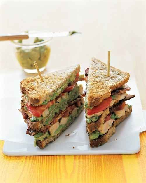 Double Decker Southwestern Turkey Club