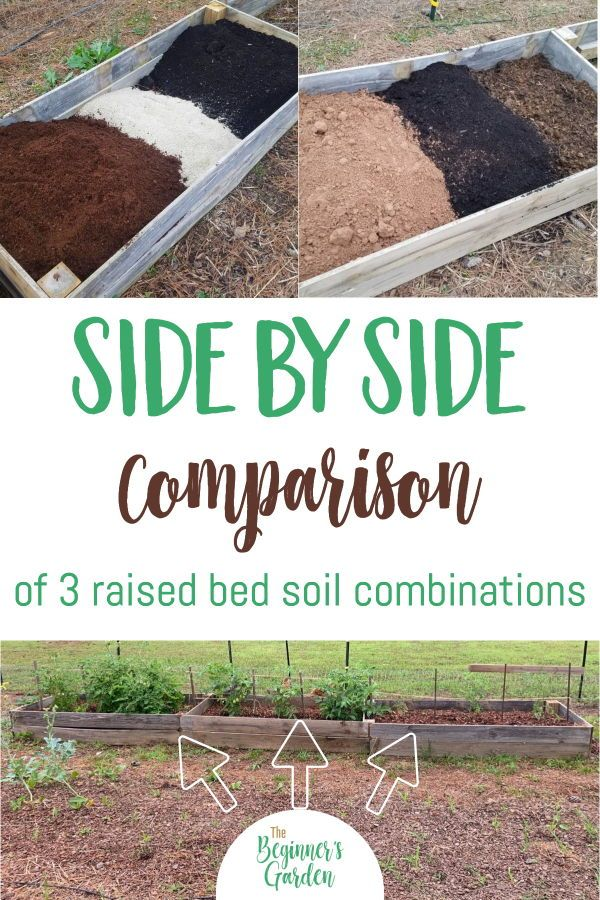 3 Raised Bed Soil Mixes Compared In 2020 With Images Organic