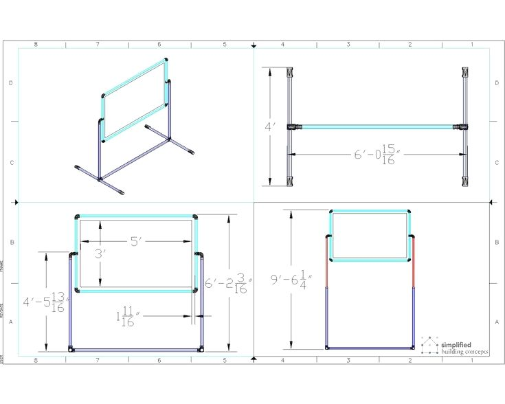 Instructions On How To Build A Portable Projector Screen Stand Screen Stands Projector Screen Stand Portable Projector Screen