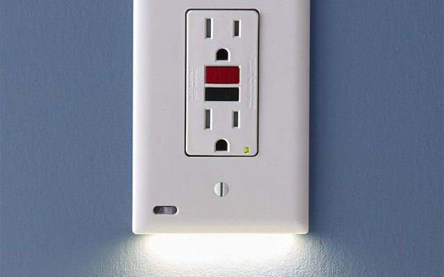 These Outlet Covers And Switches Double As Night Lights Night