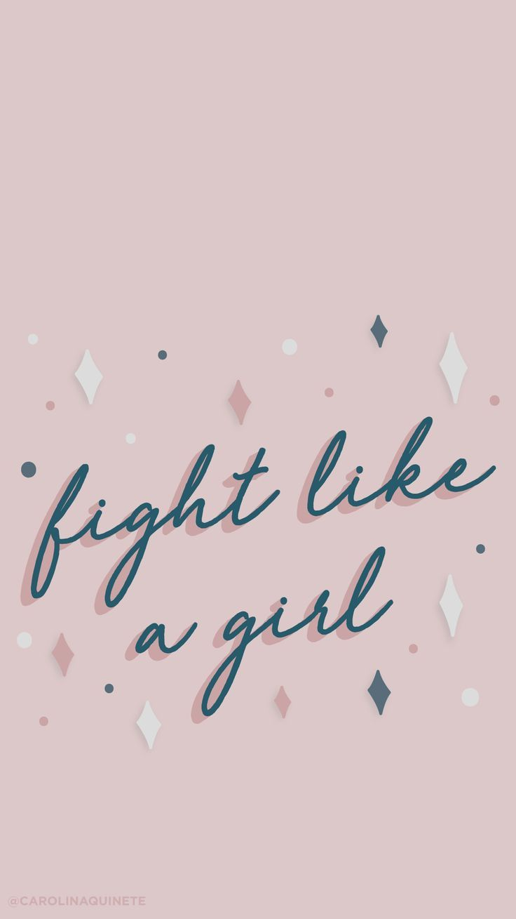 Wallpaper Mobile Fight Like A Girl International Womans Day A