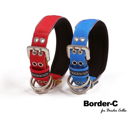 haffman | Rakuten Global Market: Nylon dog collar (name name into embroidery lost deck-Border Collie Border-C metal buckle collar (single-holed belt type) 30 mm wide Japan-made dog collar for dogs, put the phone number name for dogs large cushioned collar