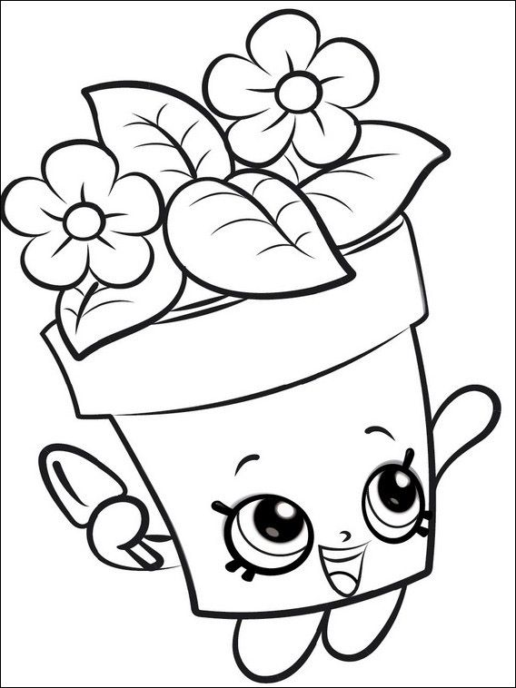 Dibujos Para Colorear Para Ninos Shopkins 1 Shopkins Dibujos