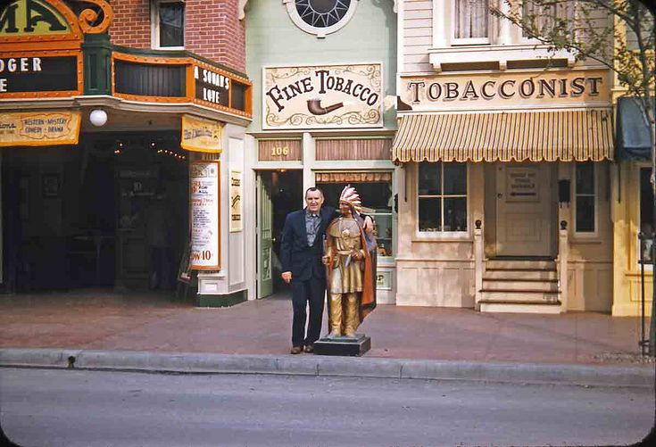 A Tobacco Shop At Disneyland?