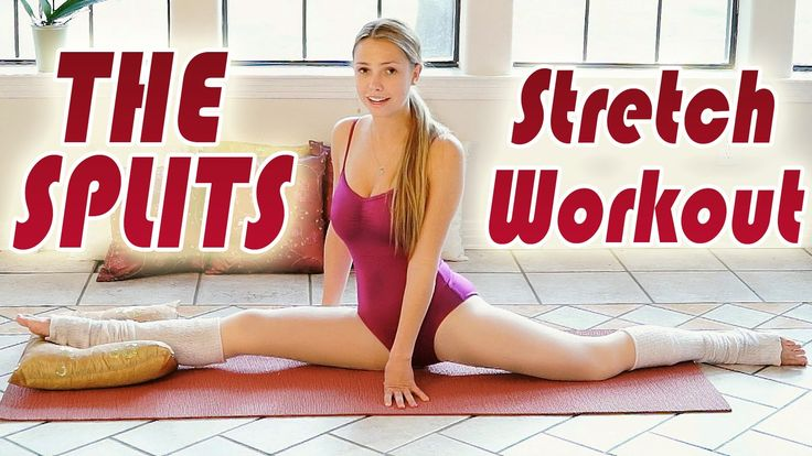 The Splits Stretch Routine - How To Do The Splits Flexibility Training Beginners Workout