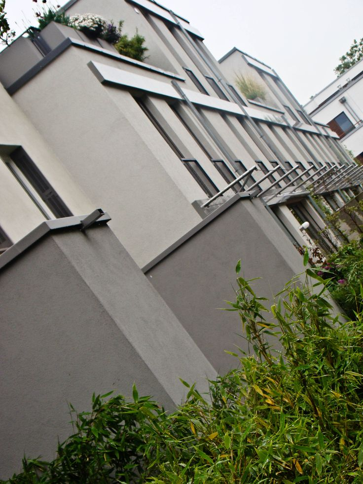 Two Residential buildings with monolithic masonry walls in Cologne | http://www.klauszeller.de/projekte/06-suelz-01.html