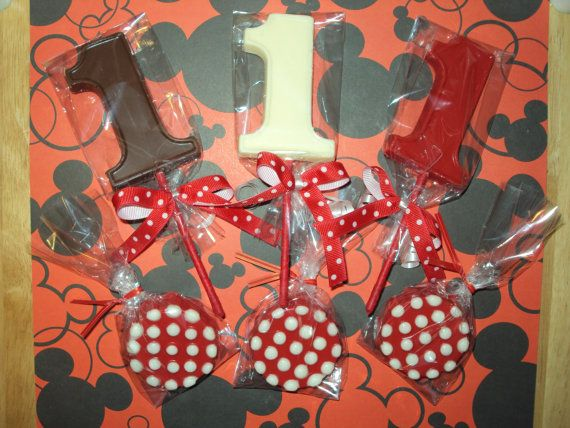 12 Minnie Mouse 1st Birthday Themed by SweetlyIntoxicating on Etsy, $18.00
