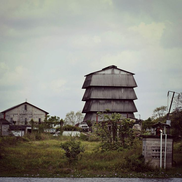 Tower Hill Sugar Factory :: Orange Walk Town Belize :: MAY2013